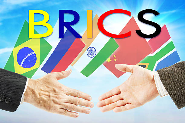 Concept of BRICS Union Concept of BRICS Union. Brasil Russia India China South Africa association brics stock pictures, royalty-free photos & images