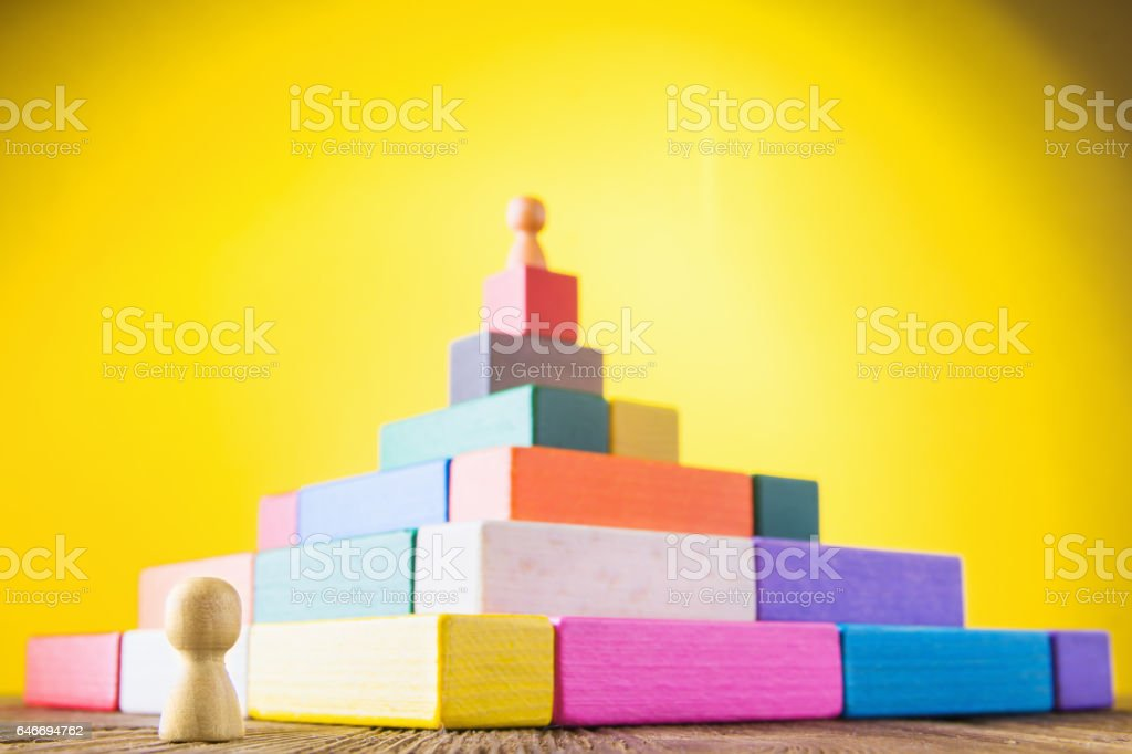 Concept of business learning success. stock photo