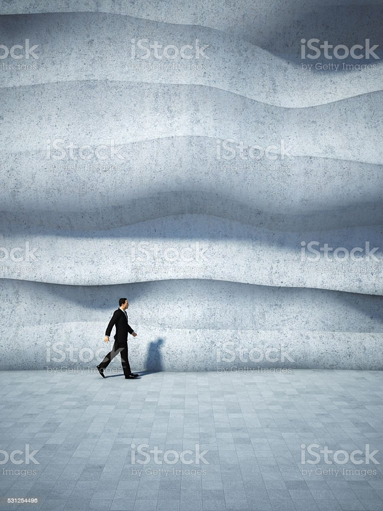 Concept of businessman stock photo