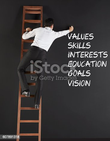 istock Concept of career 607891318