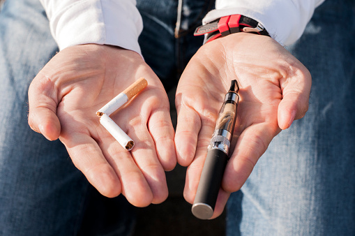 istock Concept of choosing the type of cigarette to smoke 626426490