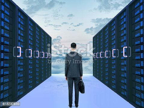 802303638 istock photo Concept of cloud computing 613232610