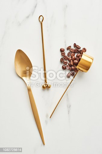 istock Concept of coffee accessories. 1032725514
