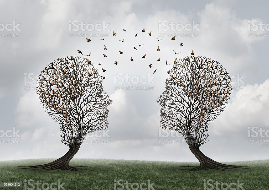 Concept Of Communication stock photo