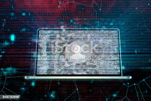 istock Concept of Computer Hacker or Thief 849790896
