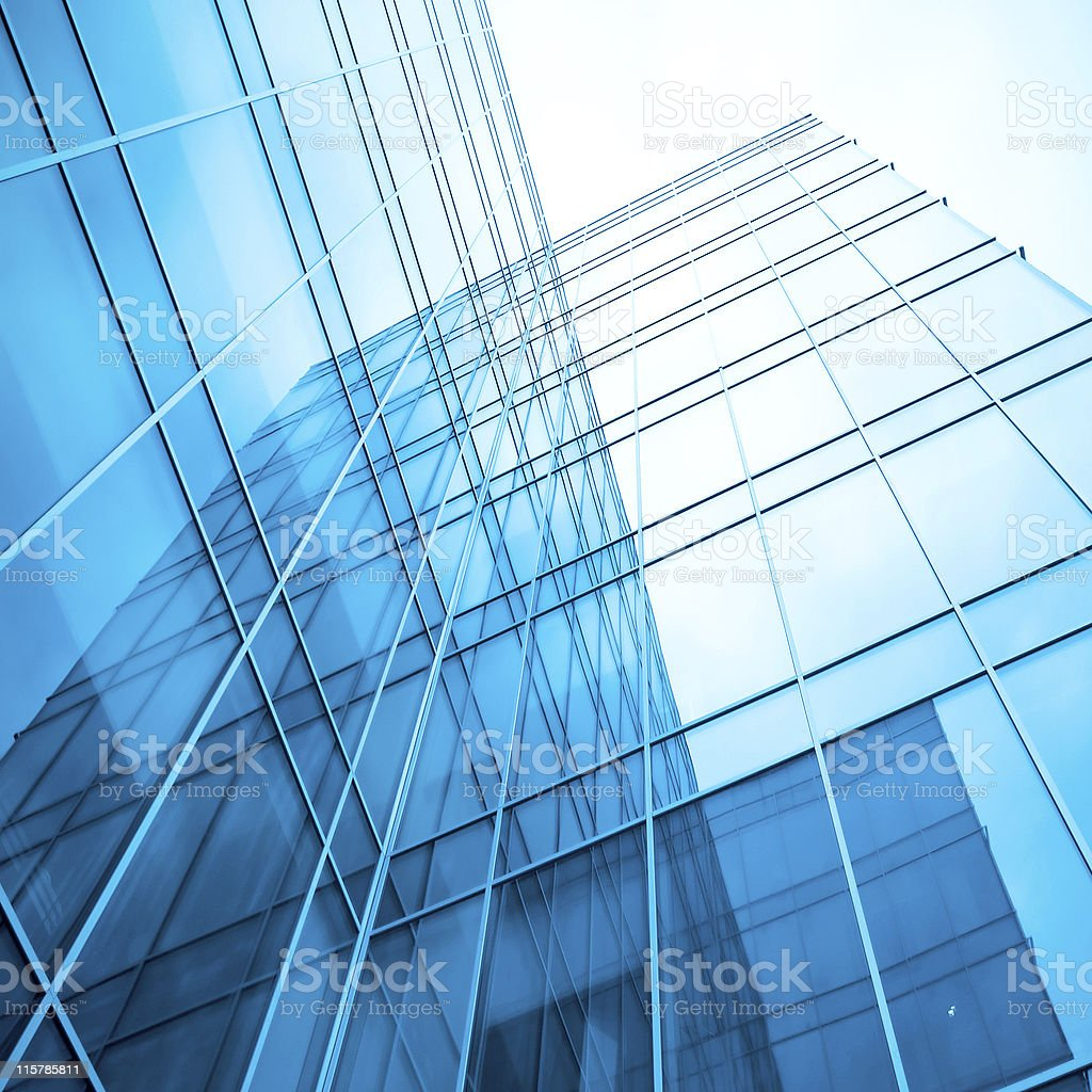 concept of contemporary architecture royalty-free stock photo