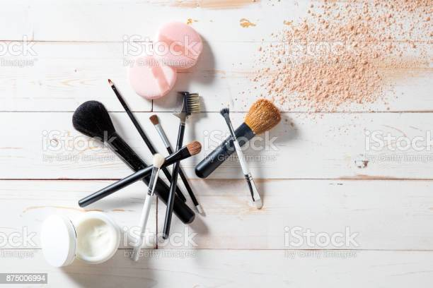 Concept of cosmetics and makeup with powder skincare and brushes picture id875006994?b=1&k=6&m=875006994&s=612x612&h=f9x1y76iy ocqjiwwv45ssoavt2 if46yr7zel hrvo=