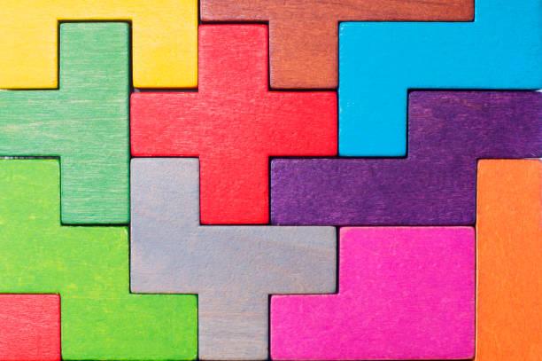 Concepto de pensamiento creativo, lógico o de resolución de problemas. - foto de stock