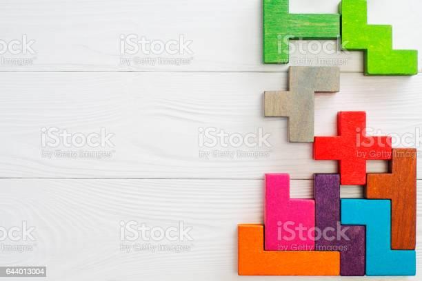 Konzept Der Kreativen Logisches Denken Stockfoto und mehr Bilder von Bauklotz