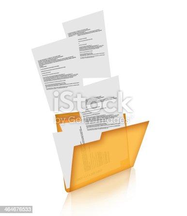 462138083istockphoto Concept of data transferring. 464676533