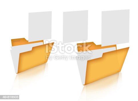 462138083 istock photo Concept of data transferring. 464818503