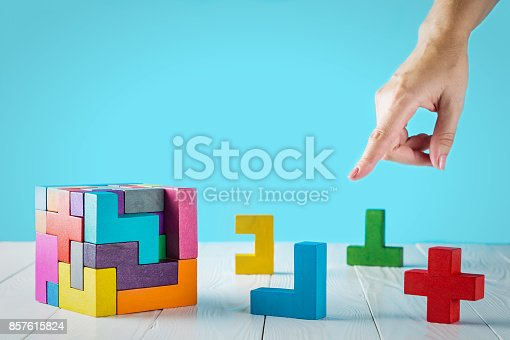 istock Concept of decision making process. 857615824