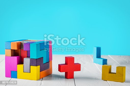 istock Concept of decision making process. 857615826