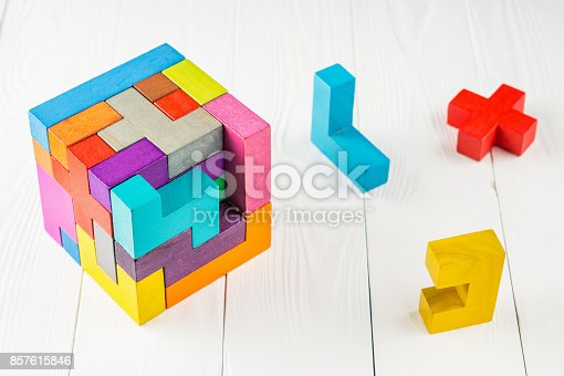 istock Concept of decision making process. 857615846
