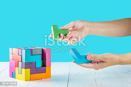 istock Concept of decision making process. 857615848