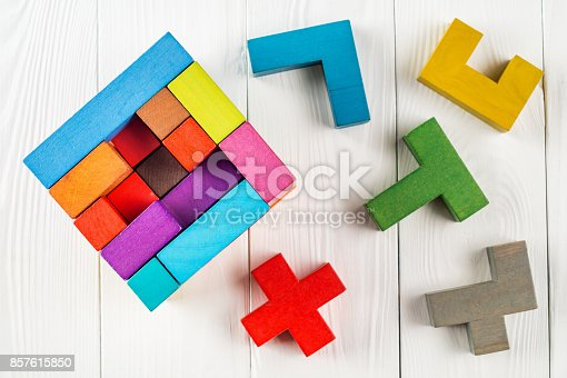 istock Concept of decision making process. 857615850
