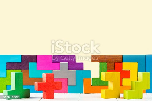 istock Concept of decision making process. 857615852