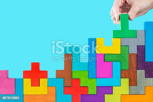 istock Concept of decision making process. 857615864