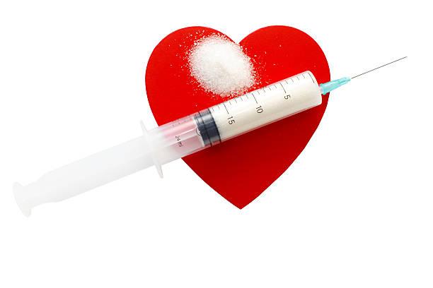 konzept von diabetes - dextrose stock-fotos und bilder