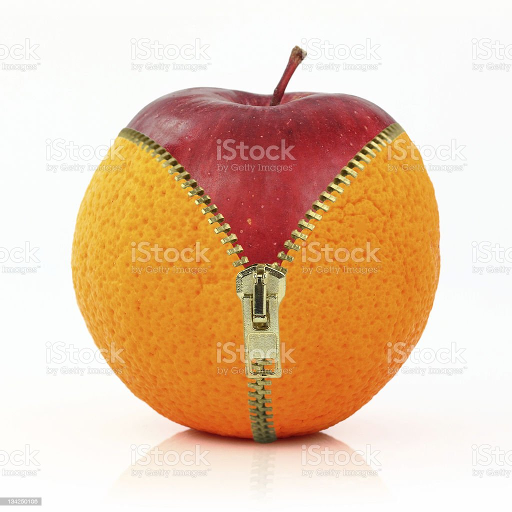 Concept of diet against cellulite stock photo