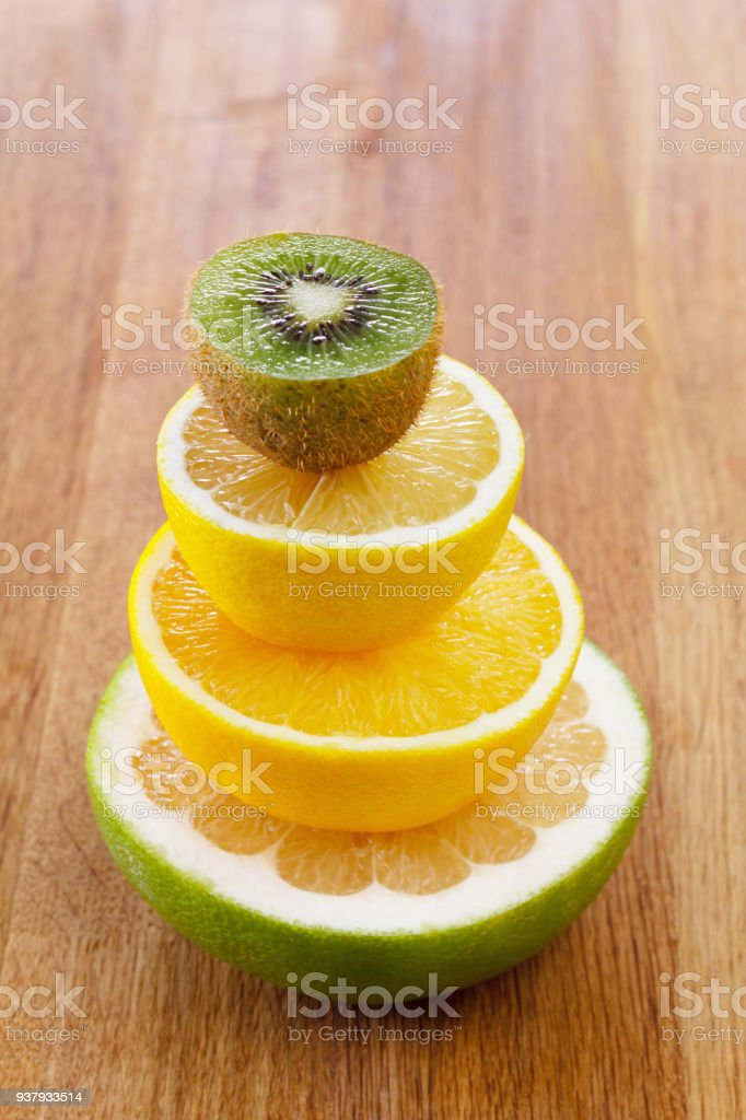 Fruta citrica para dietas