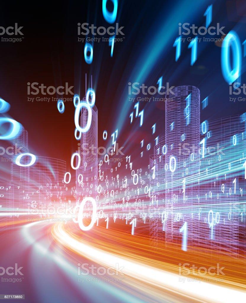 Konzept der Digitaltechnik – Foto