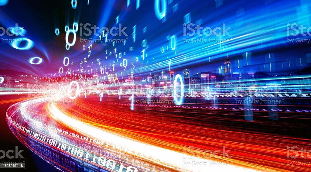 concept of digital technology - Foto stock royalty-free di Affari