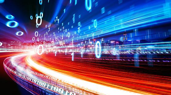 Concept Of Digital Technology - Fotografie stock e altre immagini di Affari