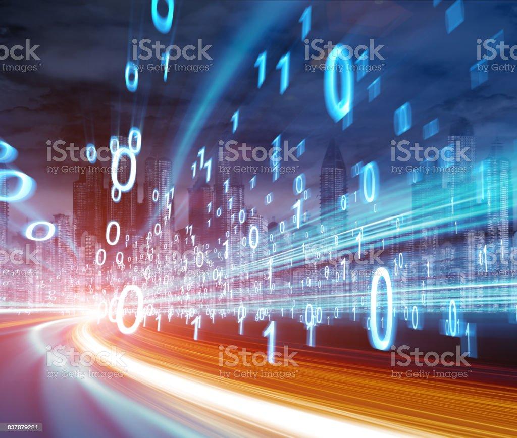 concept de la technologie numérique - Photo