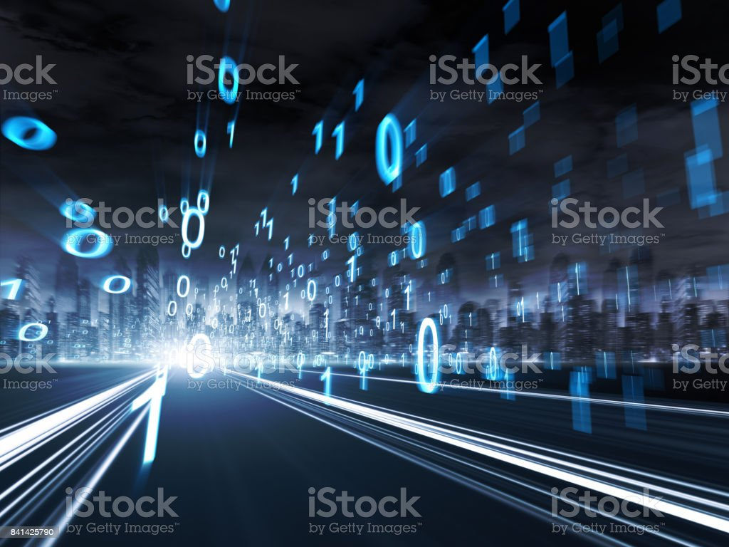concept of digital technology stock photo