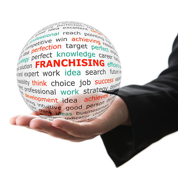 Konzept der Franchising in business – Foto