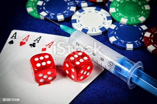 Concept of gambling addiction