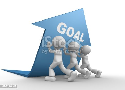 istock Concept of goal 476140487