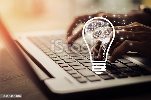 istock Concept of idea and innovation 1037348136