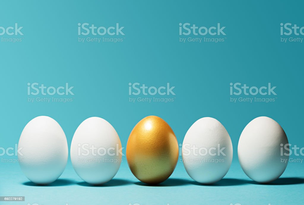 Concept of individuality, exclusivity, better choice. stock photo