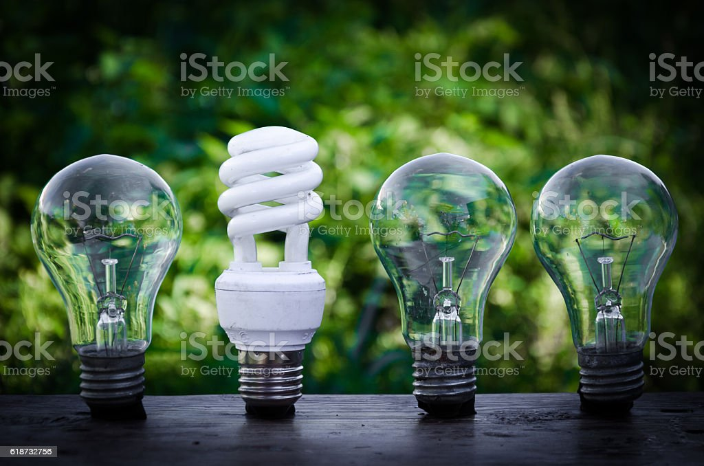 concept of innovation. Green energy - Photo