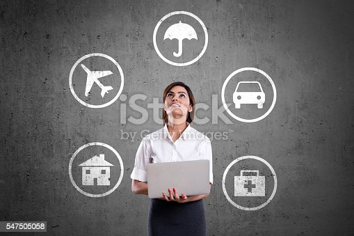 istock Concept of Insurance 547505058