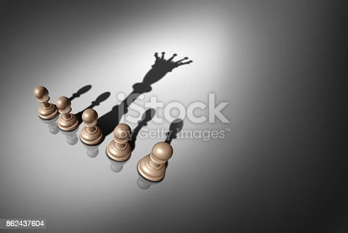 istock Concept Of Leader 862437604