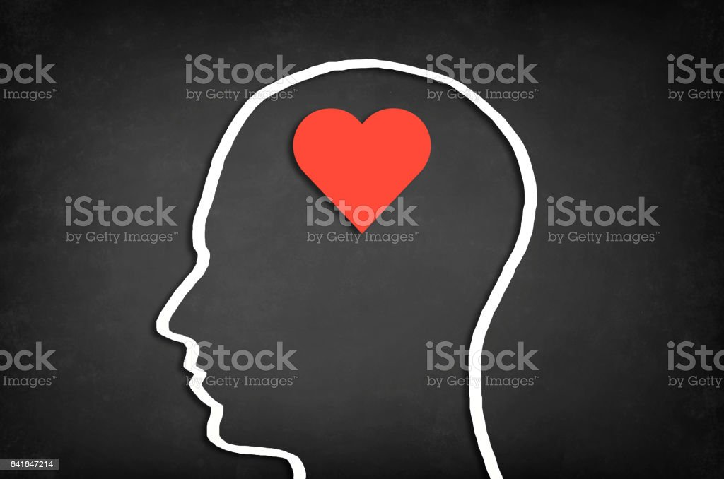 Concept of love. stock photo