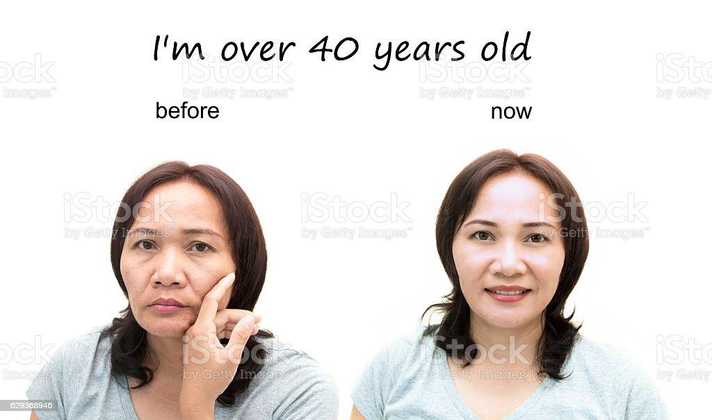 Konzept von Make-up – Foto