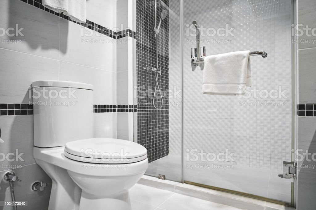 Concept Of Modern Decoration Design Of Bathroom For Luxury Hotel Residential Stock Photo Download Image Now Istock