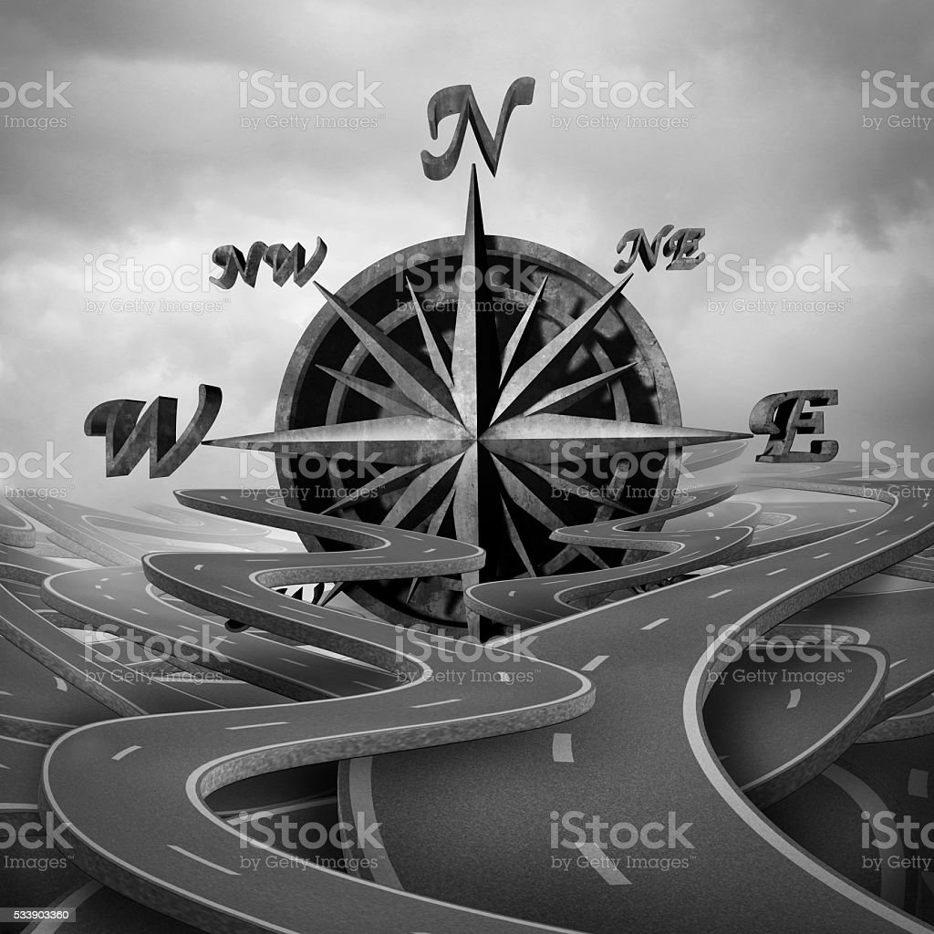 Concept Of Navigation stock photo