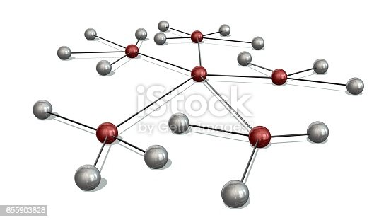 istock Concept of Network, social media, internet communication 655903628