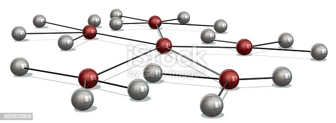 istock Concept of Network, social media, internet communication 655903808