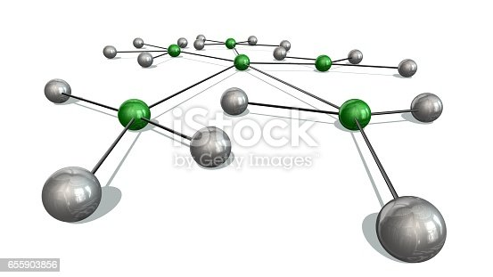 istock Concept of Network, social media, internet communication 655903856