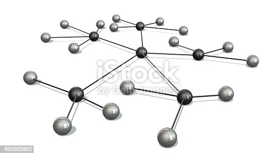 istock Concept of Network, social media, internet communication 655903902