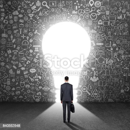 istock Concept of new business opportunities 840552548