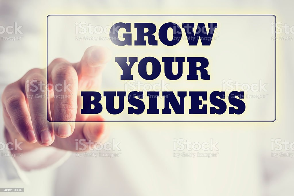 Concept of new or start up business stock photo