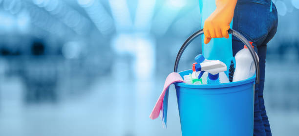 Concept of quality cleaning. stock photo