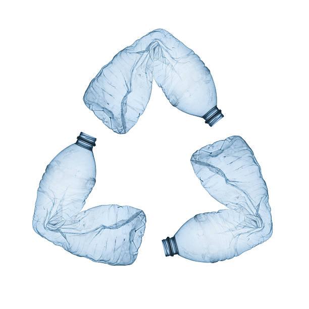concept of recycle. - pet bottles bildbanksfoton och bilder